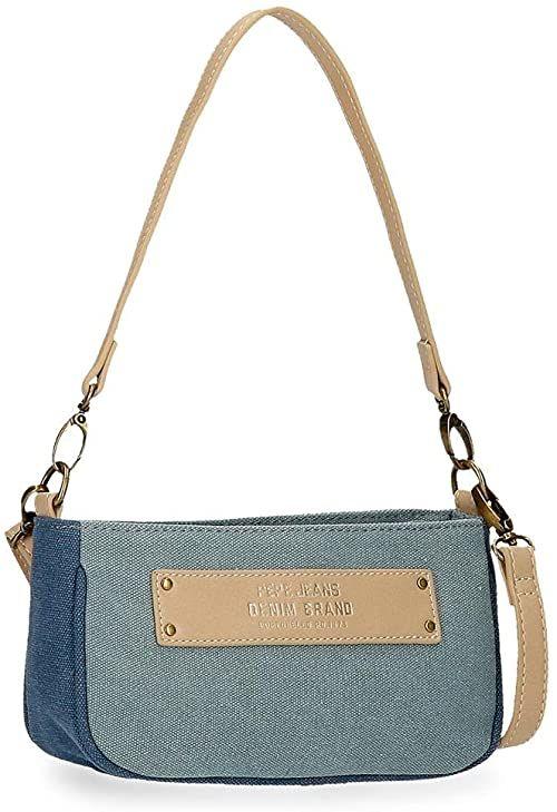 Pepe Jeans Tana torba na ramię, 21 x 11 x 6 cm, Pasek na ramię (niebieski) - 7695122