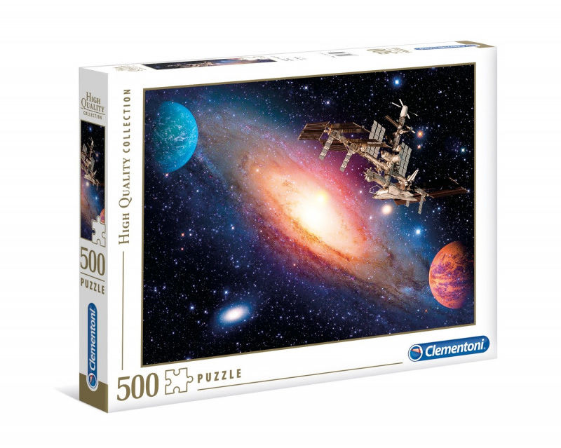 Puzzle 500 elementów HQ International Space Station