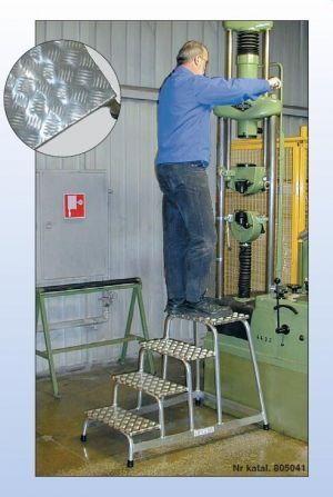 Pomost montażowy 5 stopni - 3m robocza