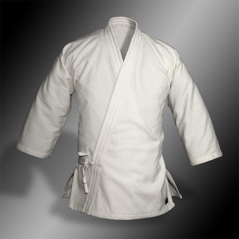 kimono do aikido TONBO - SQUARE, białe, 250g/m2 - męskie
