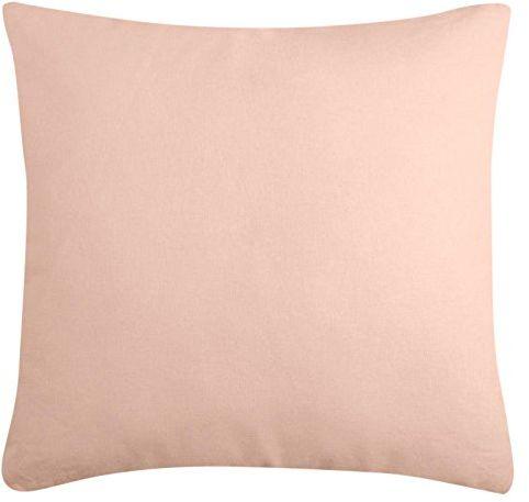 Lovely Casa Duo poduszka, bawełna, pudr/mysz, 50 x 50 cm