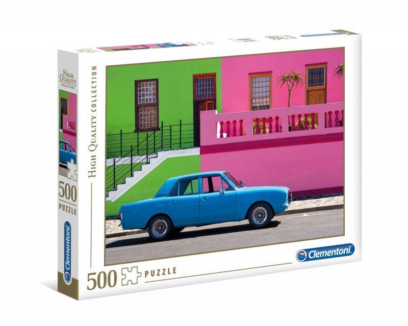 Puzzle 500 elementów HQ The Blue Car