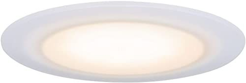 Paulmann 99943 LED oprawa do zabudowy Premium Suon, okrągła, 1x6,5W, IP44, możliwość ściemniania, biały, 2000K