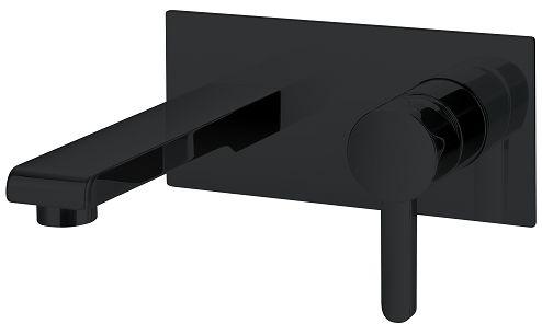 Omnires Darling bateria podtynkowa umywalkowa czarny półmat DA5015BL