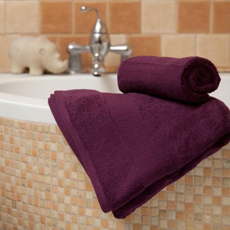 Ręcznik Evora 70x140cm fioletowy