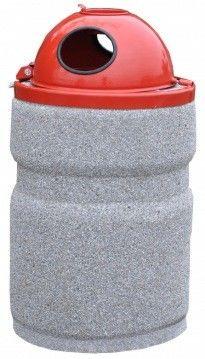 Kosz 70 litrowy z kopułą
