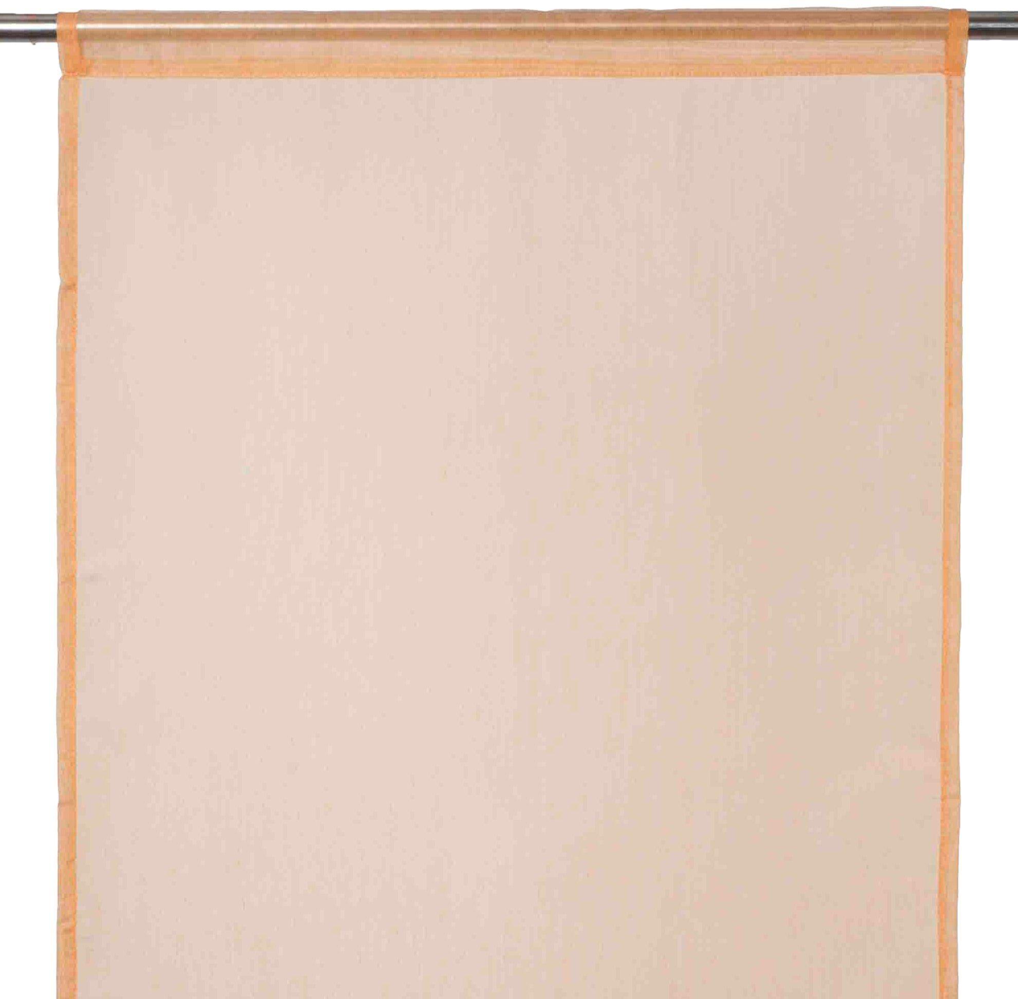 Madura Zasłona Tramuntana poliester 100%, pomarańczowy Clair, dł. 60 x wys. 290 cm