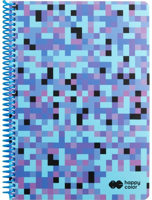Kołobrulion B5 80k kratka PIXI niebieski Happy Color 6463 HA 4742 1825-PI1