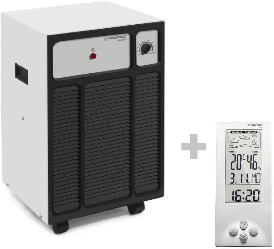 Osuszacz powietrza TTK 120 S + Termohigrometr stacja pogodowa BZ06