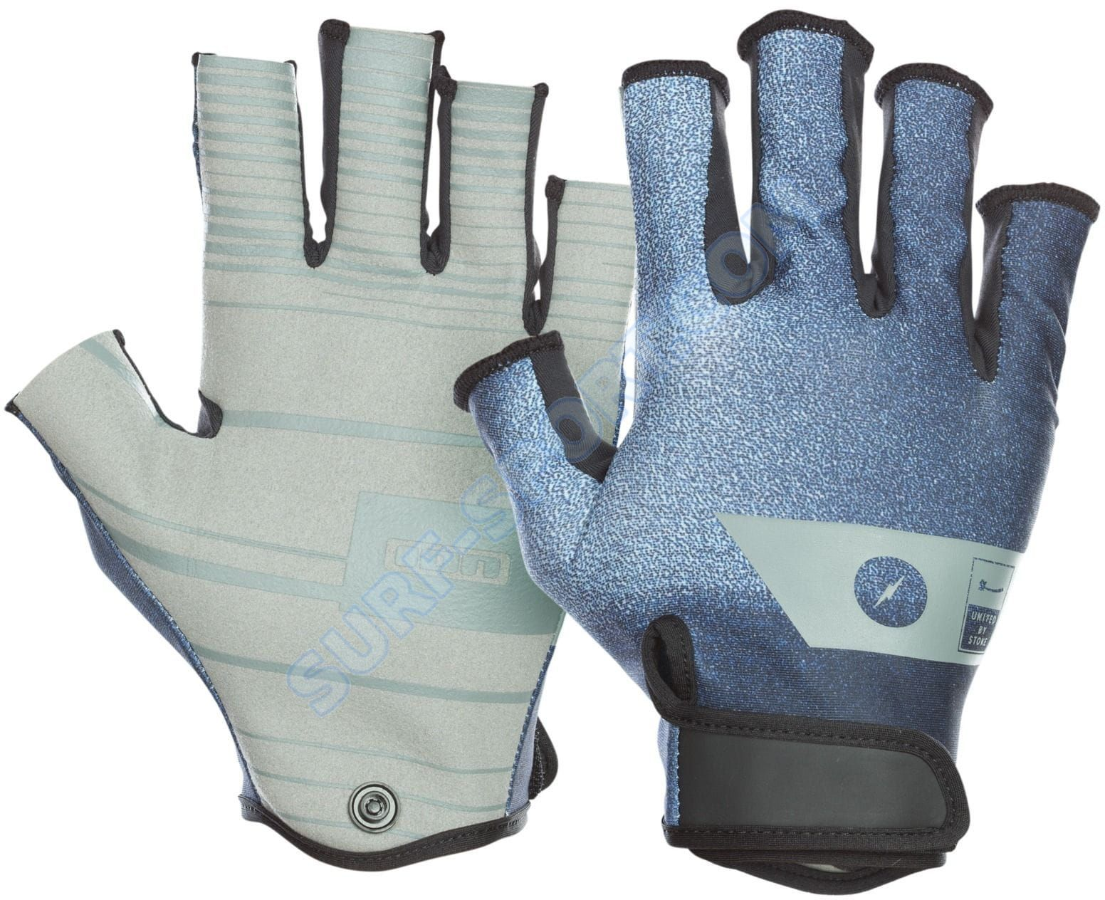 Rękawiczki ION Amara Gloves Half Finger 2020 Dark Blue