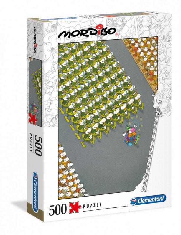 Puzzle 500 elementów MORDILLO The March
