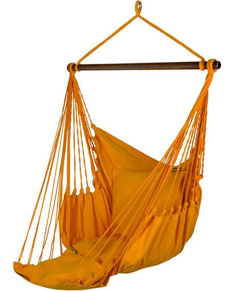 Fotel hamakowy z podstawką, Bird of Paradise Orange HC-FR