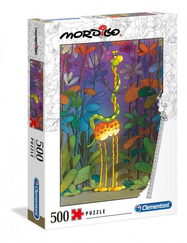 Puzzle 500 elementów MORDILLO The Lover