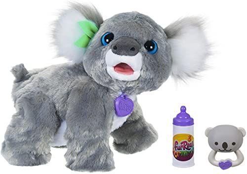 Hasbro E9618 furReal Koala Kristy interaktywne zabawkowe zwierzątko, 60+ dźwięków i reakcji, od 4 lat