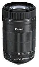Canon EF-S 55-250mm f4-5.6 IS STM Czarny