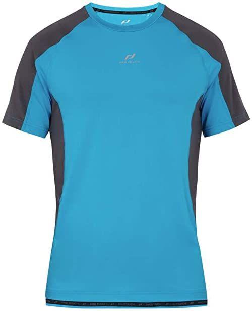 Pro Touch Męska koszulka Inos T-shirt męski niebieski niebieski/antracyt. S