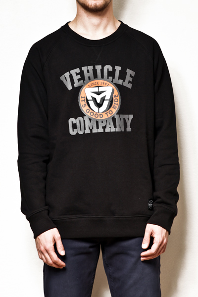 Vehicle BASEBALL BLACK/BLACK bluza - S