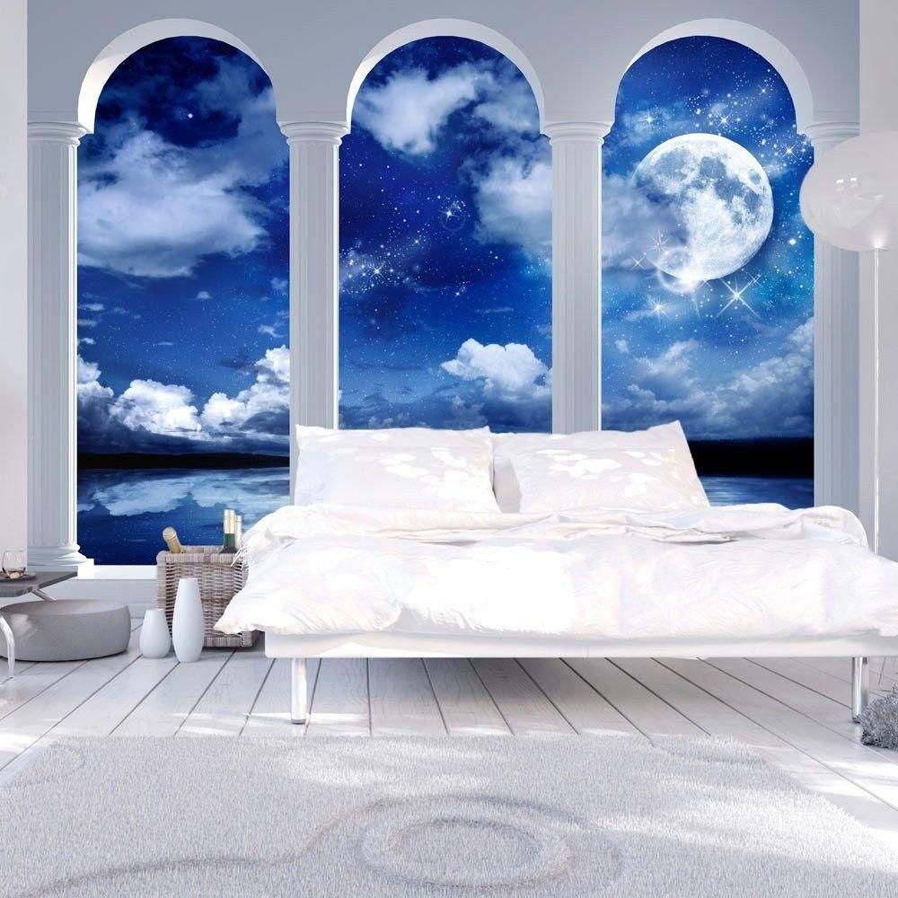 Fototapeta - noc w grecji