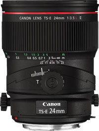 Canon TS-E 24mm F3.5 L II Czarny