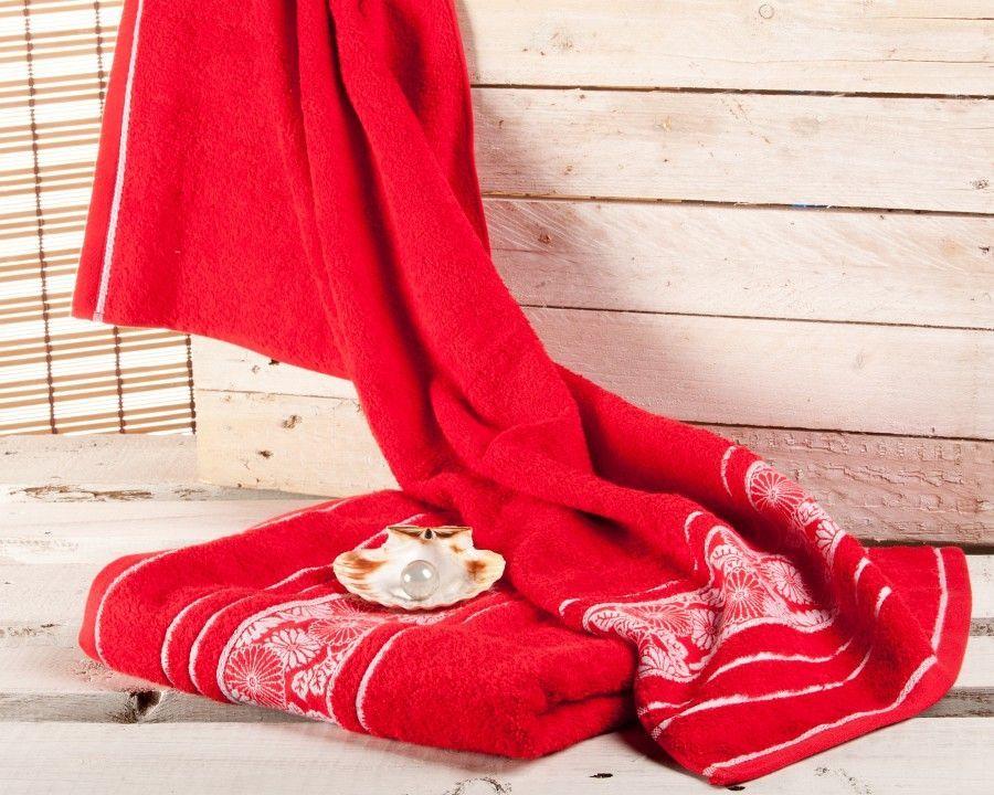 Ręcznik Castelo czerwony, 70  140 cm