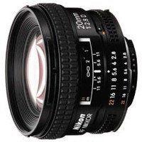 Nikon AF 20mm f/2.8D Czarny