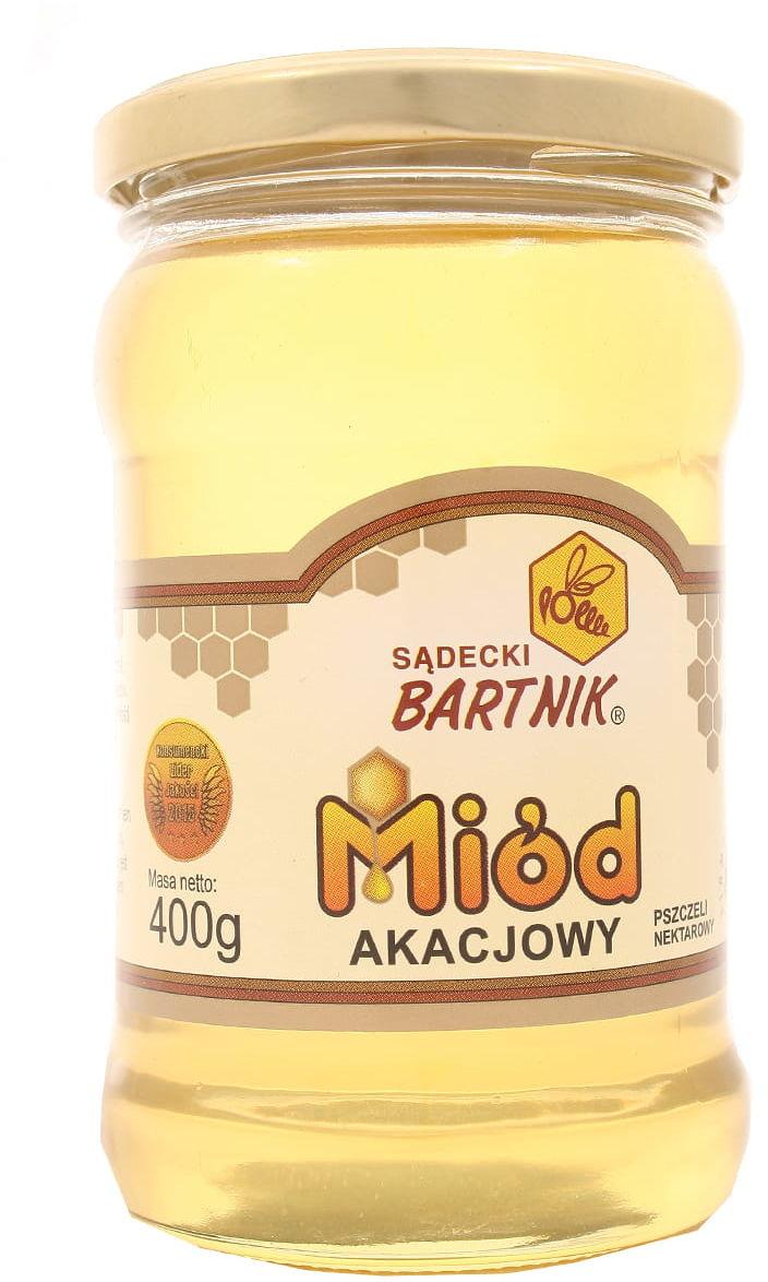 Miód akacjowy - Bartnik - 400g