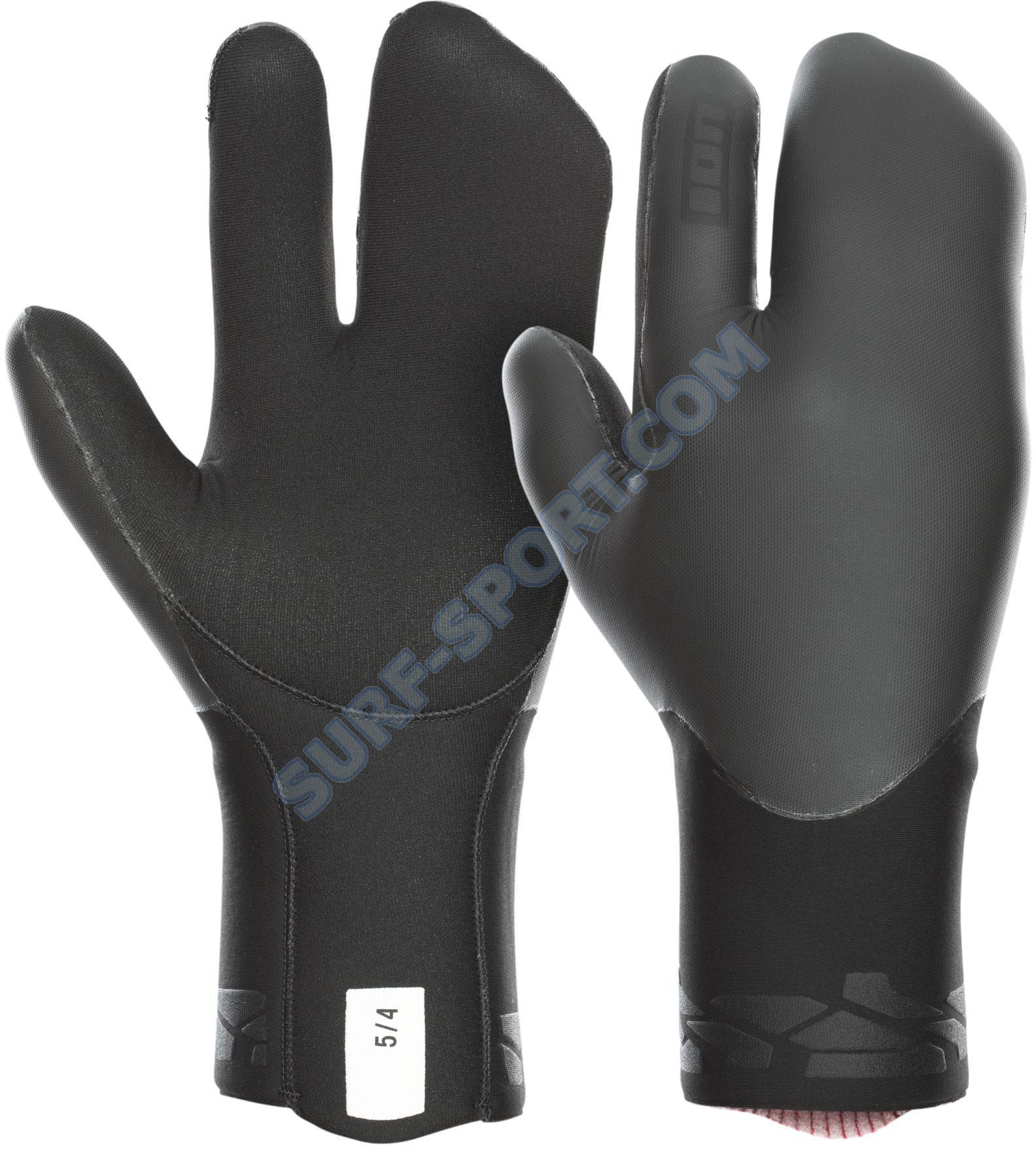 Rękawice Neoprenowe Ion Lobster Mitten Gloves 5/4 -2020 Black