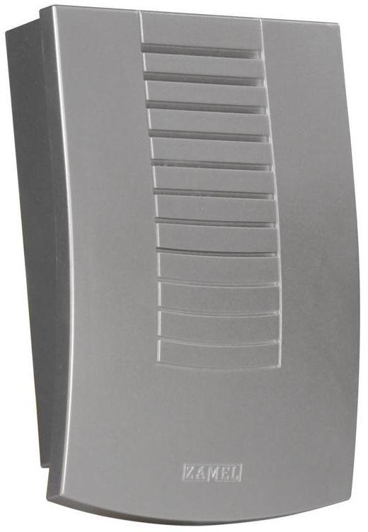 Dzwonek do drzwi przewodowy 230V DNS - 911 / N DWUTONOWY SRB ZAMEL