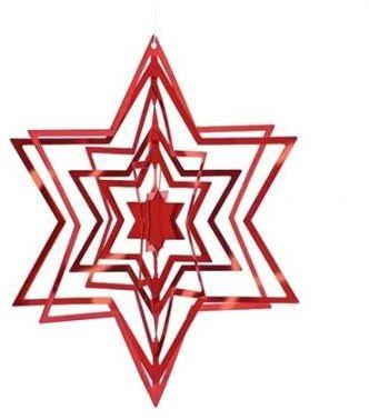Philippi CHRISTMAS Ozdoba Choinkowa - Gwiazdka Czerwona