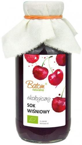 Sok wiśniowy BIO 330 ml Batom