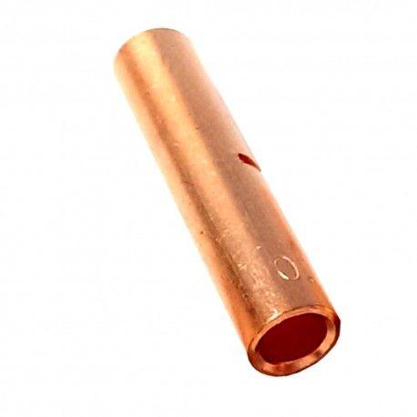 10 sztuk Złączka kablowa miedziana CU Z6 6mm2 tulejka bez pokrycia galwanicznego 6 mm2 Radpol 01-203-00 1212