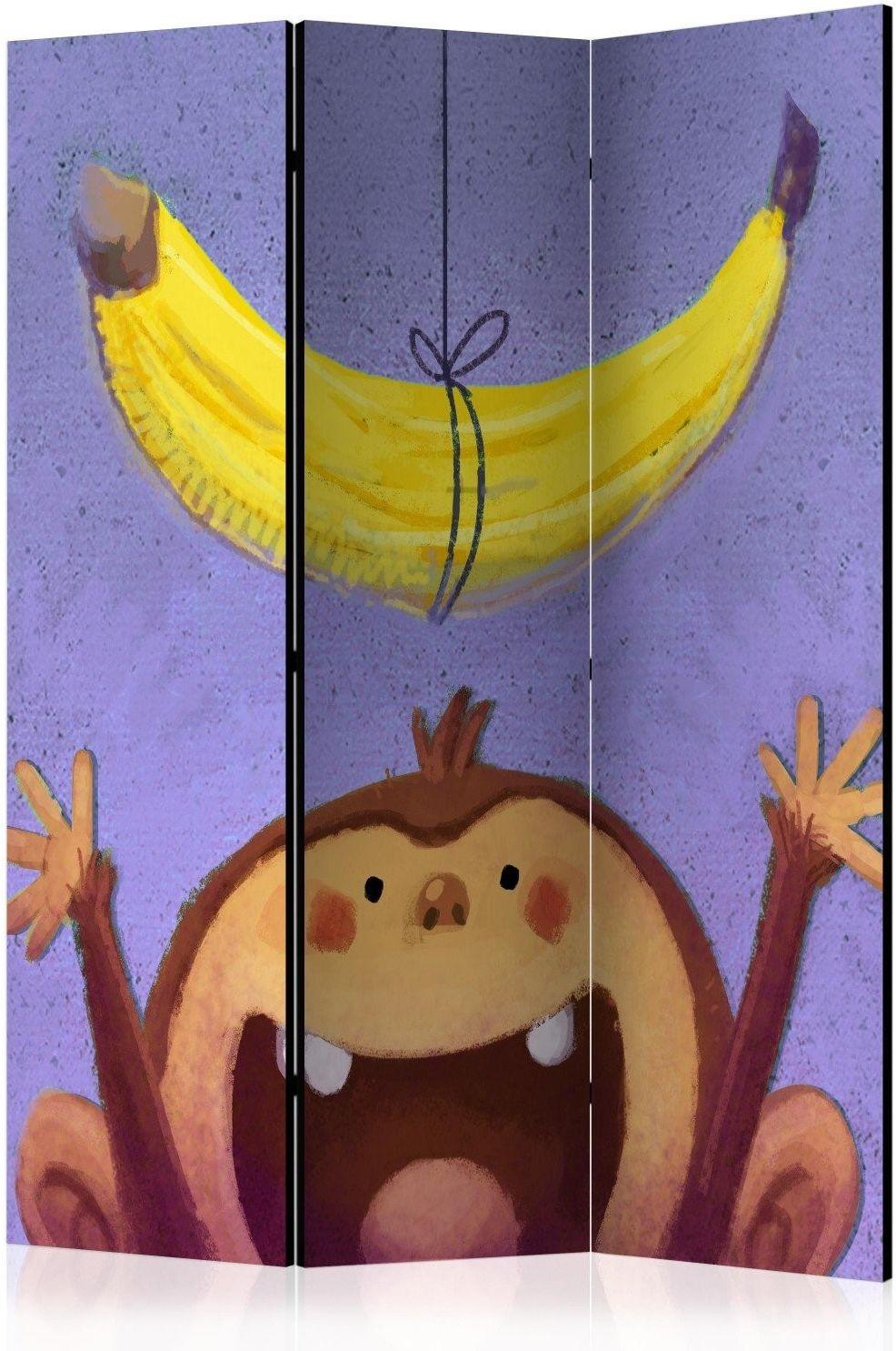 Parawan 3-częściowy - bananana [room dividers]