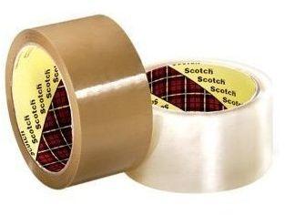 Taśma pakowa akrylowa Scotch przezroczysta (66m x 50mm) (MV 371_AKRYL)