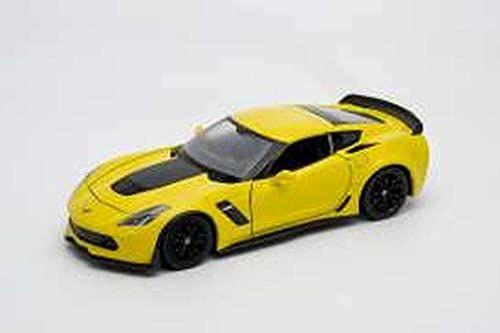 Welly 24085Y miniaturowa kolekcja, żółta