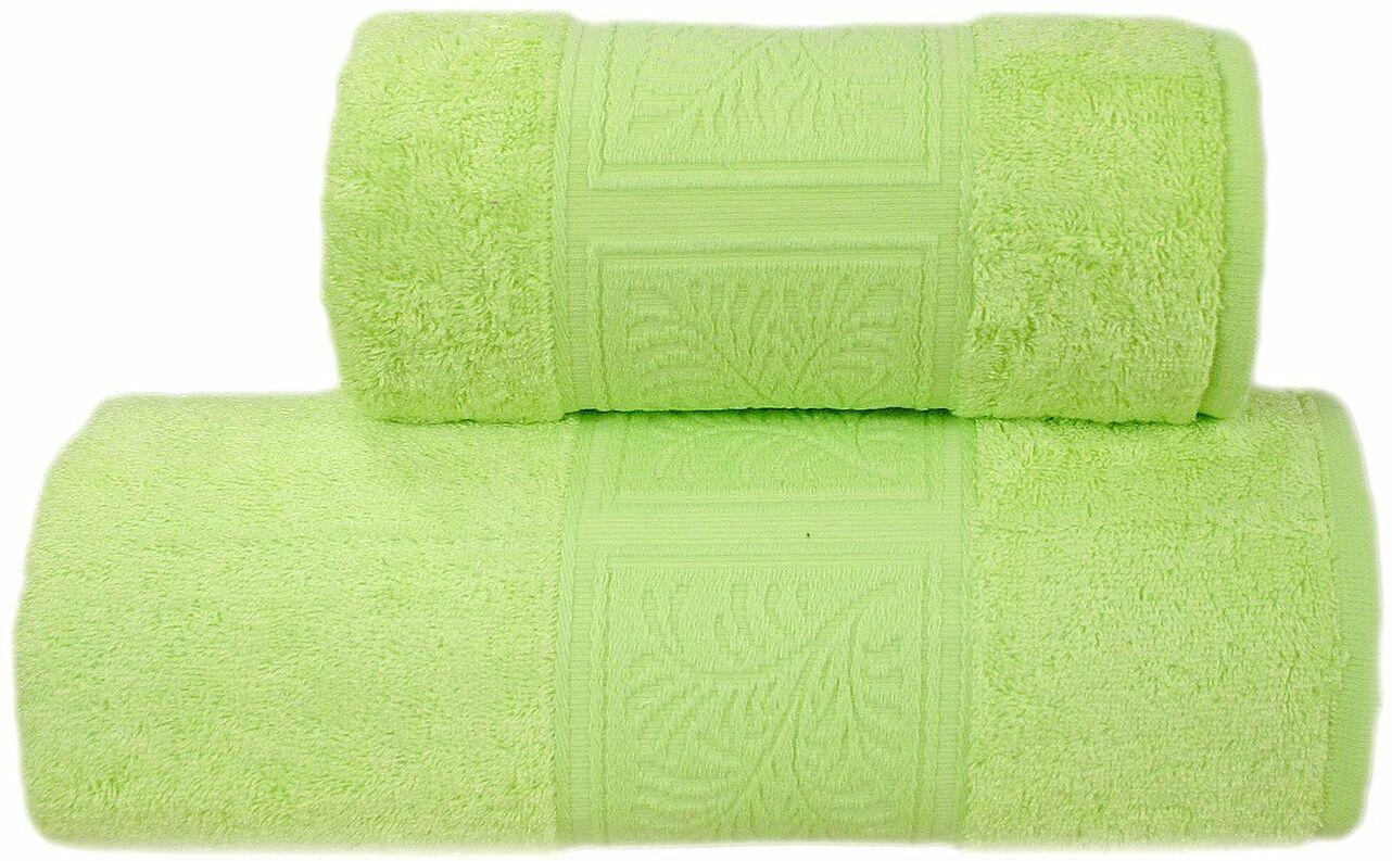 Ręcznik bawełniany Greno Ecco Bamboo Zieleń