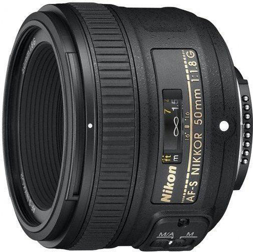 Nikon AF-S 50mm f1.8G Czarny