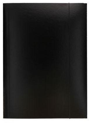 Teczka na dokumenty z gumką A4 ESSELTE czarna (ES 13439)
