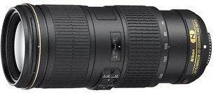 Nikon AF-S 70-200mm f/4G ED VR Czarny