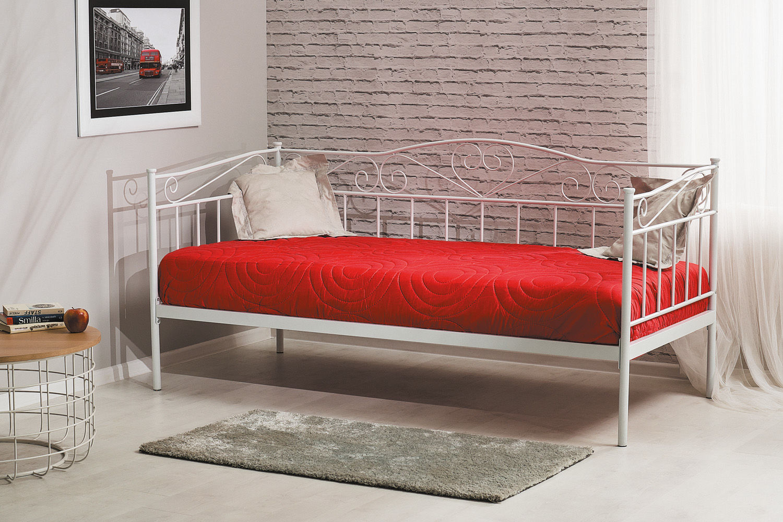 Łóżko BIRMA 90x200 białe  Kupuj w Sprawdzonych sklepach