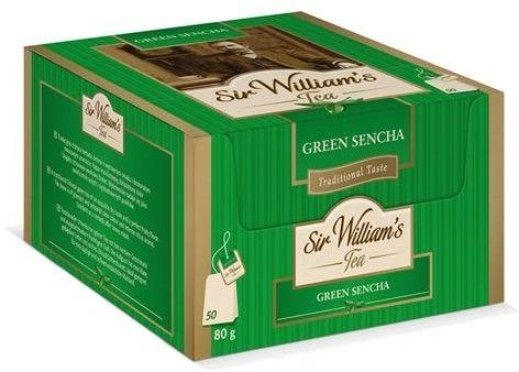 Zielona herbata Sir Williams Tea Green Sencha 50x1,6g