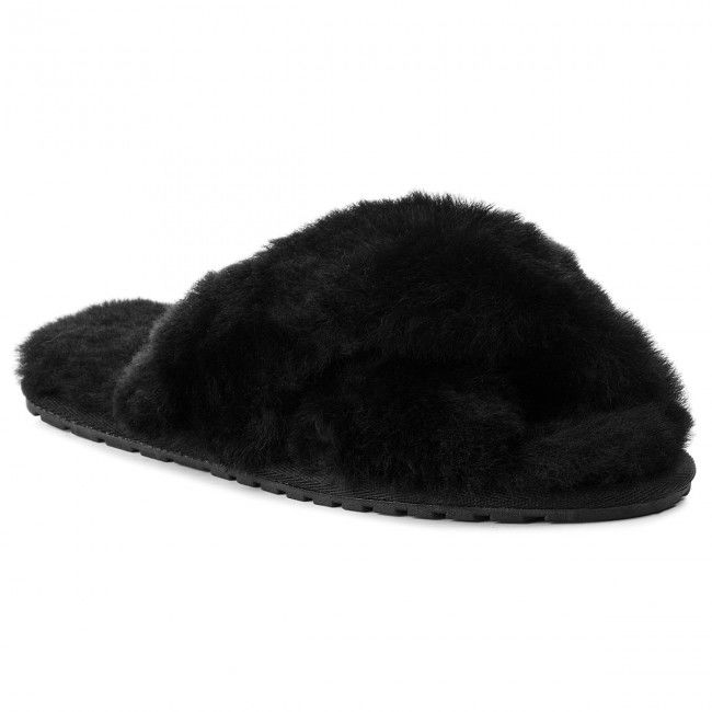 Kapcie EMU AUSTRALIA - Mayberry W11573 Black