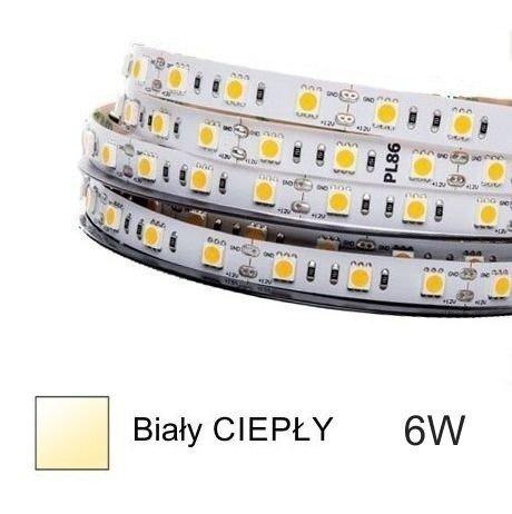 Prof taśma LED HQS-2835-6W-WW ciapła 1m