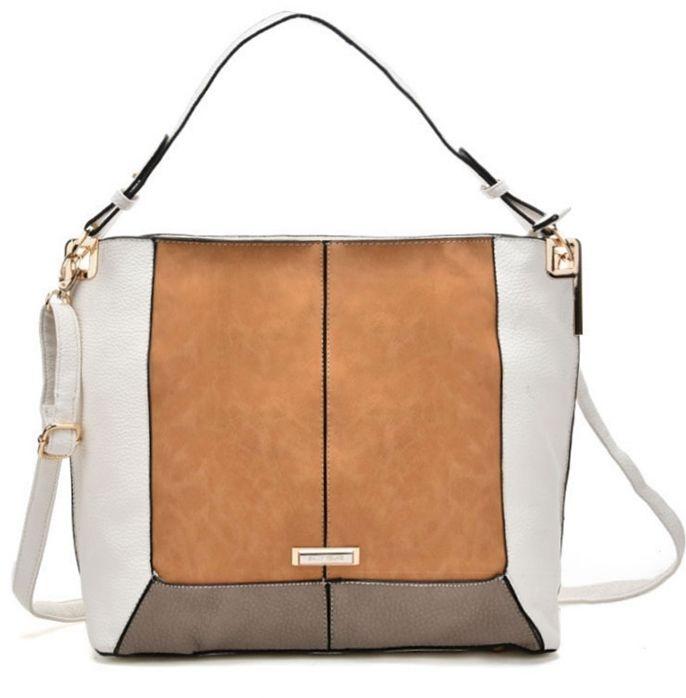 Biała torba worek na ramię Sally01