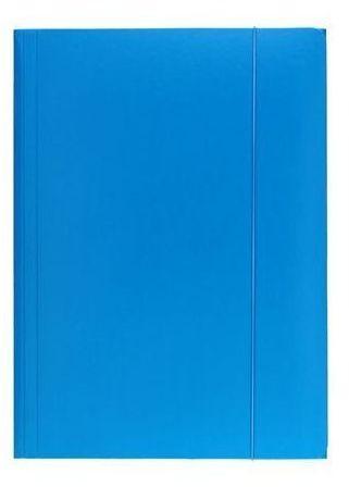 Teczka na dokumenty z gumką A4 ESSELTE niebieska (ES 13435)