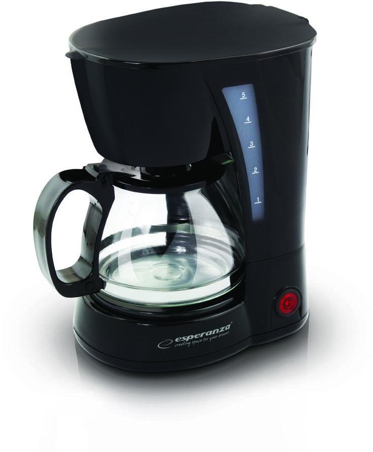 EKC006 Esperanza ekspres przelewowy do kawy robusta 0.6 l