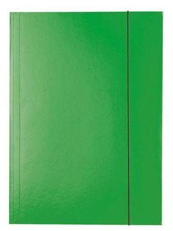 Teczka na dokumenty z gumką A4 ESSELTE zielona (ES 13437)