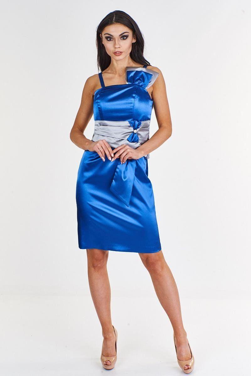 Sukienka FSU998 CHABROWY SZARY JASNY