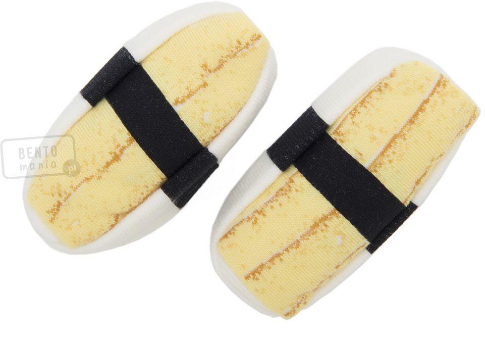 Skarpetki sushi - nigiri z jajkiem
