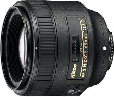 Nikon AF-S 85mm f/1.8G Czarny