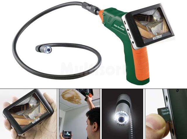 Kamera inspekcyjna o średnicy 17mm i LCD 3,5